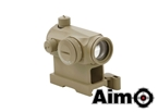 Picture of AIM T1 Airsoft Red Dot Sight with QD Mount (DE)