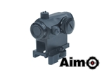Picture of AIM T1 Airsoft Red Dot Sight with QD Mount (BK)