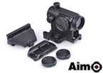 Picture of AIM T1 Airsoft Red Dot Sight w/ 3 Type Mount Set (BK)
