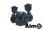 Picture of AIM M2 Airsoft Red Dot Sight w/ QD Mount Set (BK)