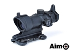 Picture of AIM ACOG 4×32 Scope Red/Green Reticle with QD Mount (BK)