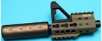 Picture of G&P Keymod Stubby Front Set for M4/M16 AEG (Sand)