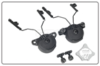Picture of FMA EX Headset And Helmet Rail Adapter Set GEN1 (Black)