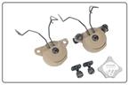 Picture of FMA EX Headset And Helmet Rail Adapter Set GEN2 DE