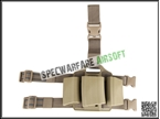 Picture of SAF Style M4/AUG Triple Drop Leg Magazine Pouch (DE)