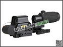 圖片 EOTECH Style EXPS3 Red Dot Sight + G33 3X Magnifier Set (BK)