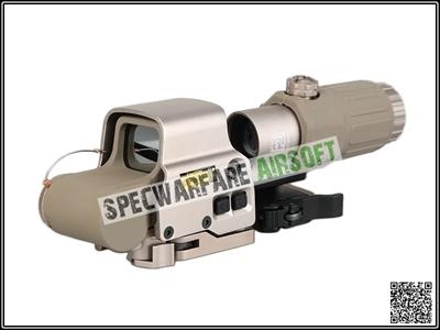 Picture of EOTECH Style EXPS3 Red Dot Sight + G33 3X Magnifier Set (DE)