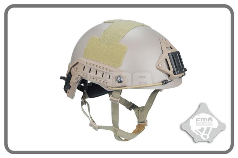 Picture of FMA Ballistic Helmet With 1:1 Protecting Pat (M Size DE)