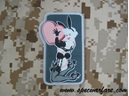 "Picture of Mil-Spec Monkey ""Love Bunny"" Velcro Patch (Full Color)"