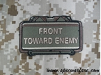 "Picture of Mil-Spec Monkey ""Front Toward Enemy"" Velcro Patch (Forest)"
