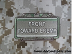 "Picture of Mil-Spec Monkey ""Front Toward Enemy"" Velcro Patch (Multicam)"