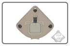 Picture of FMA Plastic Helmet Night Vision Shroud Attach Middle Aluminum DE