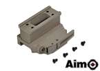Picture of AIM BOBRO Style T1 QD Mount with Riser (DE)