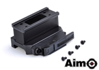 Picture of AIM BOBRO Style T1 QD Mount with Riser (BK)