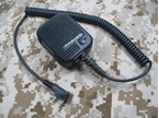 Picture of TCA Modified original Thales Communications Speaker PTT (Kenwood 2-Pins)
