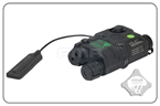 Picture of FMA AN-PEQ-15 Upgrade Version LED White Light + Green Laser With IR Lenses With Code (Black)