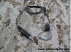Picture of TRI M3S Type Conduction Headset (Ear Quake, 1Pin) (Black)