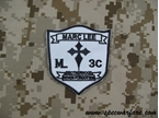 Picture of Devgru Navy SEALs Marc lee Seals Crusader Cross Patch (White)