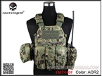 Picture of EMERSON 6094A Style Tactical Vest With Pouch Set (AOR2)