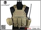 圖片 EMERSON 6094A Style Tactical Vest With Pouch Set (KH)