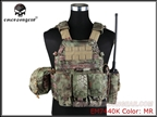 Picture of EMERSON 6094A Style Tactical Vest With Pouch Set (MR)