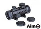 Picture of AIM 1X30 Red/Green Dot With RIS Rails (BK)