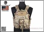Picture of EMERSON 6094K M4 Pouch Type Tactical Vest (Multicam)