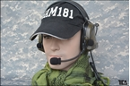 Picture of TCA COMTAC III Single Com Noise Reduction Headset For TRI / Real Mil-Spec PTT 2015 New Version (OD)