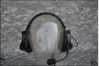 Picture of TCA COMTAC III Single Com Noise Reduction Headset For TRI / Real Mil-Spec PTT 2015 New Version (BK)