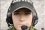 Picture of TCA COMTAC III Single Com Noise Reduction Headset For TRI / Real Mil-Spec PTT 2015 New Neckband Version (BK)