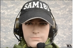 Picture of TCA COMTAC III Single Com Noise Reduction Headset For TRI / Real Mil-Spec PTT 2015 New Neckband Version (OD)