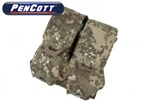Picture of TMC Lightweight Universal Double Mag Pouch (PenCott BadLands)