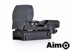 Picture of AIM Multi Reticle Reflex Red/Green Dot Sight (BK)