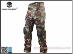 Picture of EMERSON G3 Tactical Pants W/ knee Pads (Woodland)