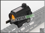 Picture of BD SOLAR POWER T-1 Red Dot Sight (BK)