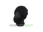 Picture of TBOC Tactical Beard Head Hat (Black Cap, Brown Beard)