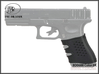 Picture of BD GLOCK Antiskid Rubber Grip (BK)