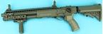 Picture of G&P M870 Medium w/ M4 Stock Full Metal Shotgun (Dark Earth)