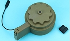 Picture of G&P 3000rd Attack Type Drum Magazine for M4/M16 AEG (DE)