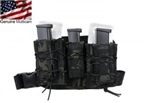 Picture of TMC Hight Hang Mag Pouch and Panel Set (Mulitcam Black)