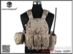 Picture of EMERSON 6094A Style Tactical Vest With Pouch Set (AOR1)