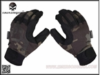 Picture of EMERSON Tactical Lightweight Camouflage Gloves (Multicam Black)