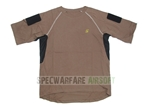 圖片 Devgru NSWDG IC Style T Shirt Custom Velcro Sleeves (CB)