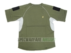 Picture of Devgru NSWDG IC Style T Shirt Custom Velcro Sleeves (OD)