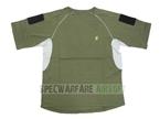 Picture of Devgru NSWDG IC Style T Shirt Custom Velcro Sleeves (OD)