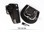 Picture of FMA Quarters Combat Holster for 1911 (Black)