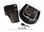 Picture of FMA Quarters Combat Holster for G17 (Black)