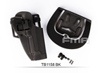 Picture of FMA CQC Hard Plastic Holster For M92 BK