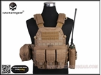 Picture of EMERSON 6094A Style Tactical Vest With Pouch Set (CB)