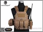 圖片 EMERSON 6094A Style Tactical Vest With Pouch Set (CB)